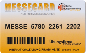 Messe Card 2